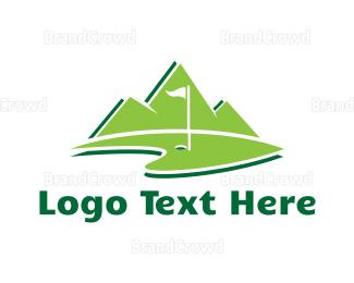 Country Club - Golf Park logo design