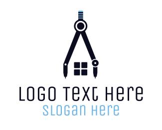Architecture - Architecture Compass logo design