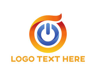 Power - Power Button logo design