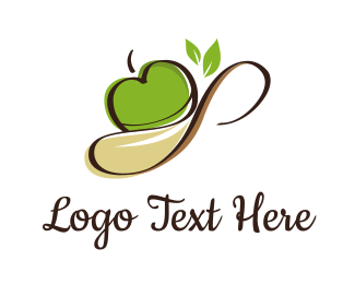 Apple - Apple Spoon logo design