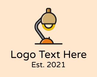 Study - Desk Study Lamp logo design