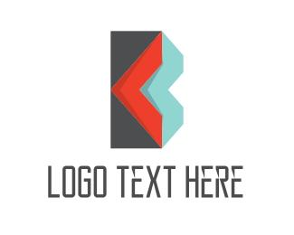 Stationery - Envelope Letter B logo design