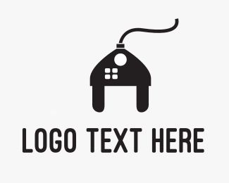 Plug In - Electrical House logo design