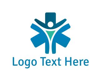 Physician - Medical Cross logo design