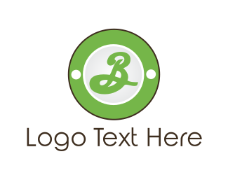 """Green Letter B Circle"" by graphicdesignartist"