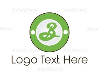 Letter B - Green Letter B logo design