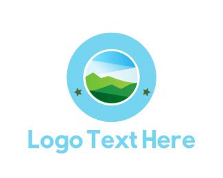 Outdoor - Landscape Circle logo design