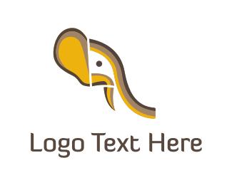 Beast - Elephant Safari logo design
