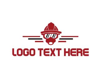 Firefighter Mask Logo