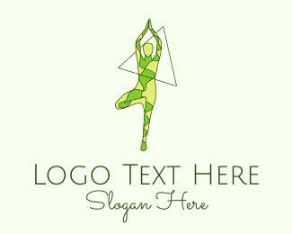 Dance Studio - Nature Yoga logo design
