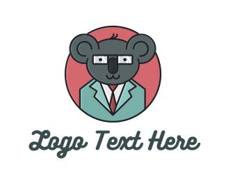 Optometrist - Professional Koala logo design