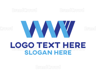 Domain - Ribbon Web logo design