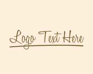 Text - Coffee Fancy Text logo design