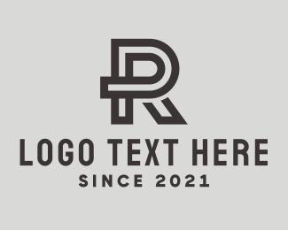 Simple - Simple Letter R  logo design