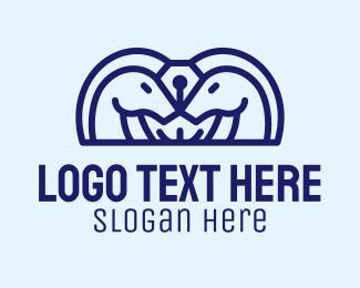 Detective - Horse Pen logo design