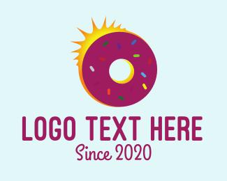 Sunrise - Sunrise Doughnut logo design