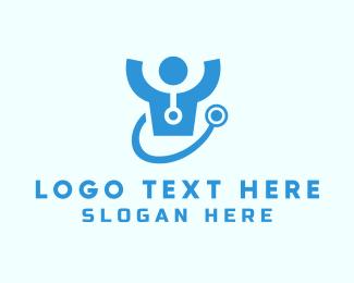 Doctor - Doctor Stethoscope logo design