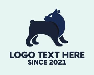 Bark - Alert Pet Dog logo design
