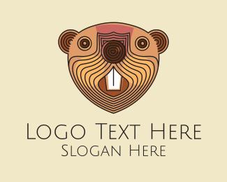 Face - Beaver Face  logo design