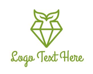 Bling - Organic Diamond logo design