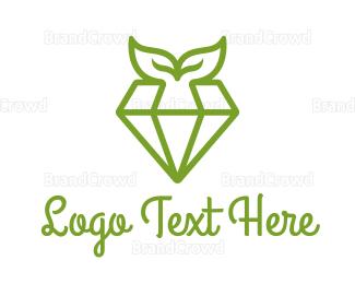 Organic - Organic Diamond logo design