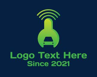 Connection - Connection Car Repair logo design