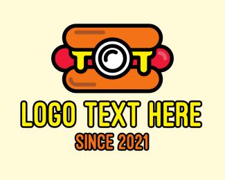 Photograph - Hot Dog Camera logo design
