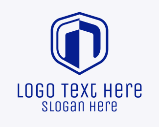 Shield - Blue Building Insurance logo design