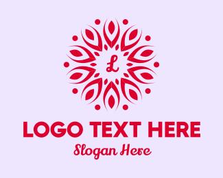 Event Styling - Leaf Petals Lettermark logo design