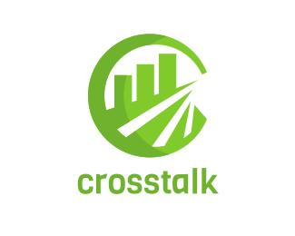Random Green Accounting Chart Accountant logo design