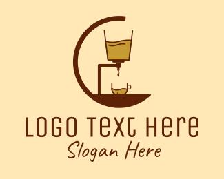 Espresso - Coffee Espresso Machine logo design