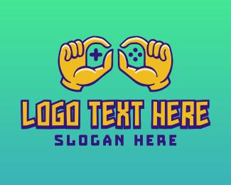 Hands - Gamer Hands  logo design