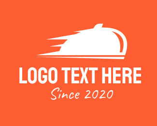 Takeout - Orange Bell Delivery logo design
