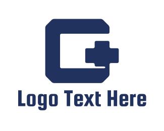 Addition - Modern G Plus logo design