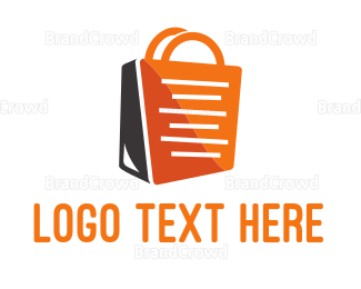 Dress Shop - Shopping Bag logo design