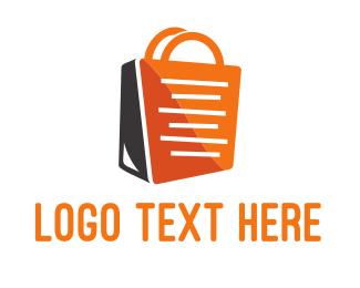 Shop - Shopping Bag logo design