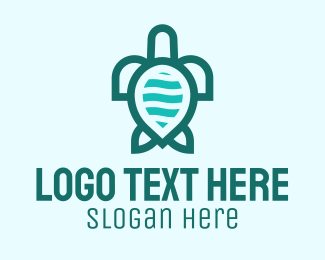Terrapin - Green Turtle Biodiversity logo design