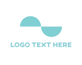 Symmetry - Mint Curves logo design
