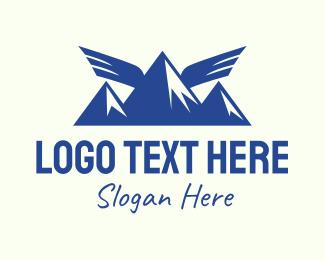 Animal - Wing Mountain Camping logo design