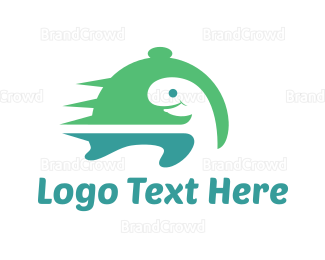 Tray - Turtle Catering logo design