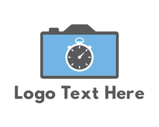 Timer - Camera & Chronometer logo design