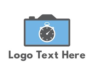 Countdown - Camera & Chronometer logo design