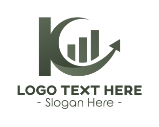 Import - Abstract Letter K Business logo design