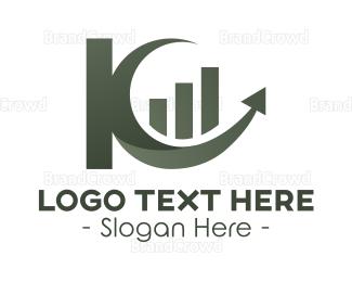 Letter K - Abstract Letter K Business logo design