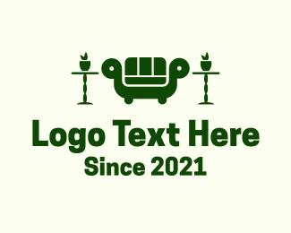 Interior - Sofa Interior Design logo design