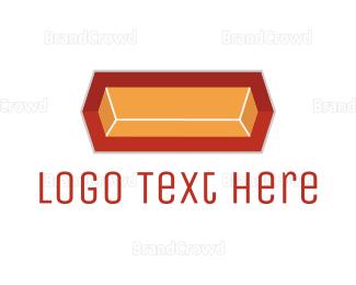 Mining - Gold Ingot logo design