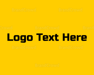 Yellow - Black & Yellow logo design
