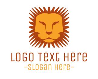 Savanna - Mane & Lion logo design