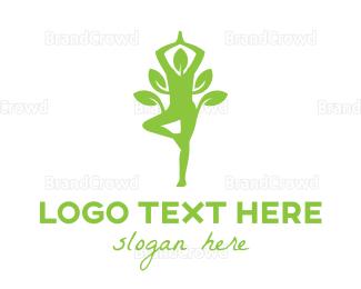 Therapeutic - Organic Yoga logo design