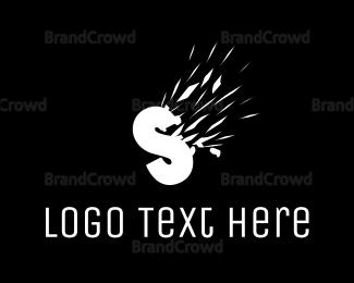 Meteor - Explosive S logo design